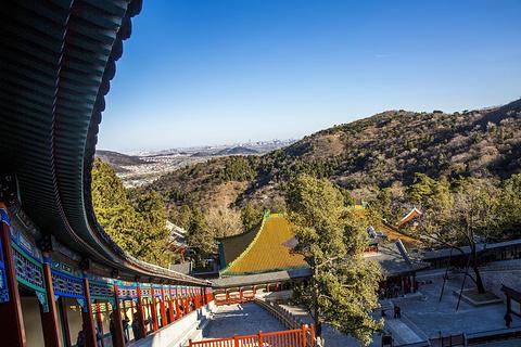 香山公园旅游景点攻略图