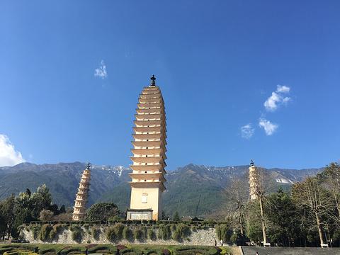 崇圣寺三塔旅游景点攻略图