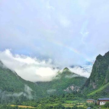 雨崩村旅游景点攻略图