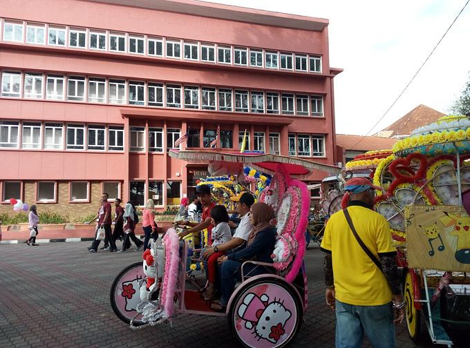 马六甲街头图片
