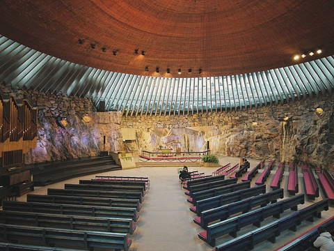 岩石教堂旅游景点图片