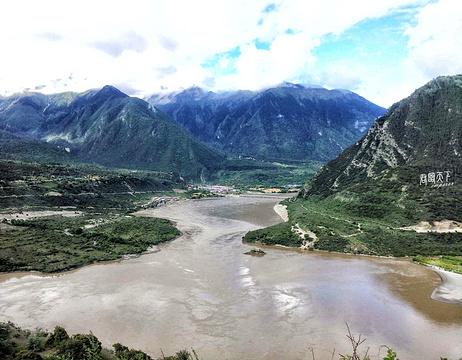 雅鲁藏布江大拐弯旅游景点攻略图