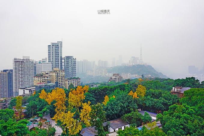 鹅岭公园瞰胜楼图片
