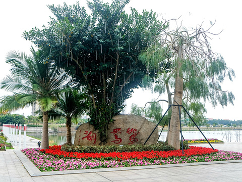 鸳鸯湖公园旅游景点图片