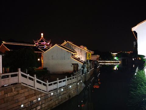 苏州古运河游船(新市桥码头)的图片
