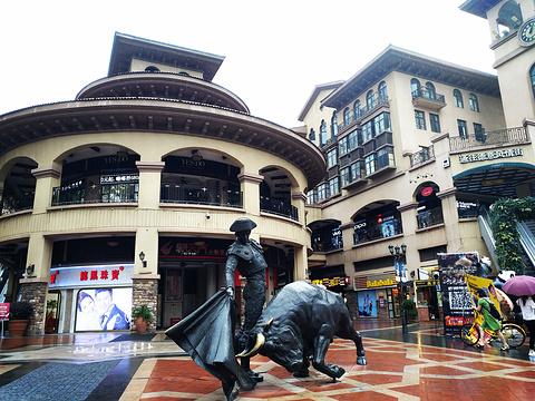 光谷步行街旅游景点图片