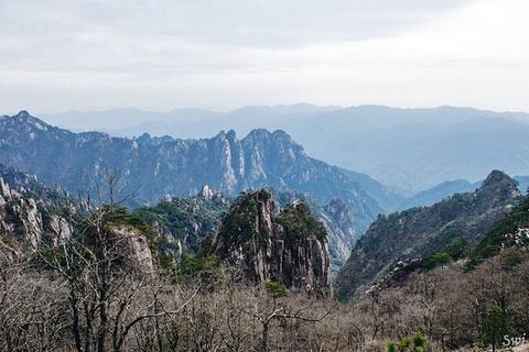黄山风景区旅游景点攻略图