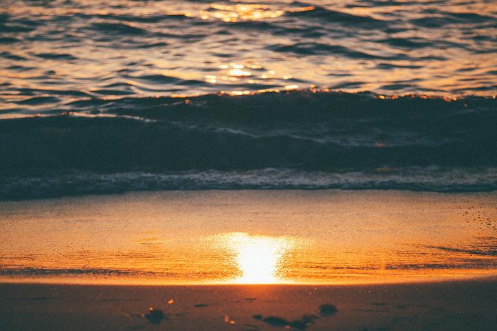"""""""想挑个最佳的日落观赏点,于是决定先将17miles开完,最后找到最佳日落站点是13 fansh..._半月湾""""的评论图片"""