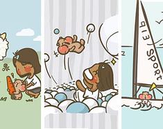 北戴河 · 乘风破浪 寻找儿时的记忆when I was a 小蝌蚪