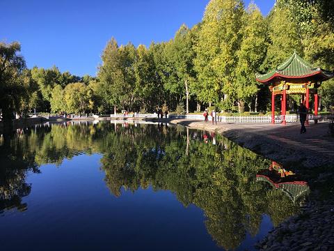 宗角禄康公园旅游景点攻略图
