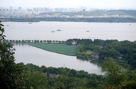 白堤旅游景点攻略图
