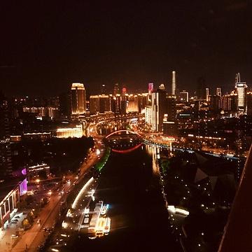 天津之眼摩天轮旅游景点攻略图