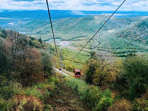 长白山国际度假区旅游景点攻略图
