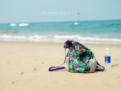 灵姑海滩旅游景点攻略图