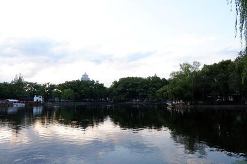 月湖公园旅游景点攻略图
