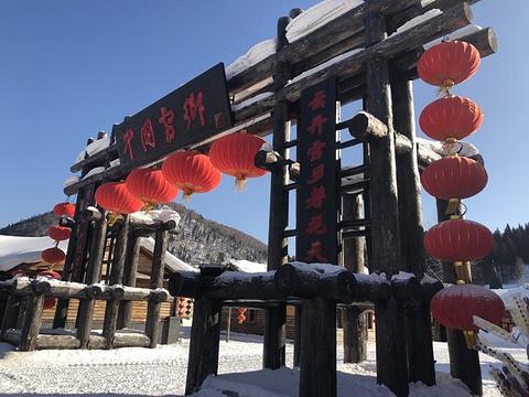 雪韵大街旅游景点攻略图