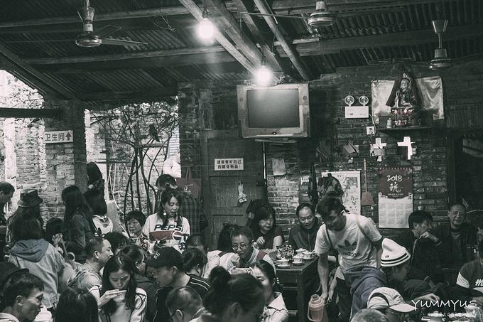 黄桷坪交通老茶馆图片