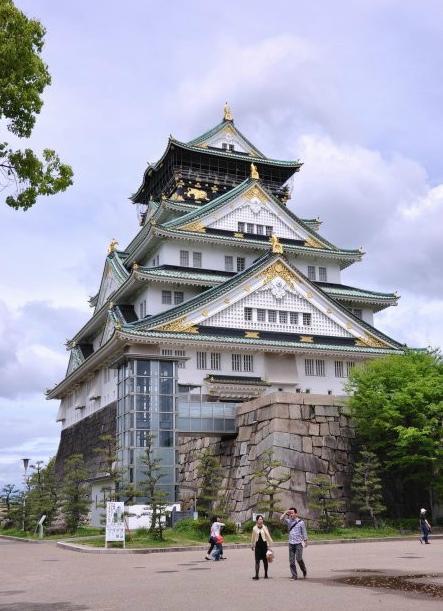 大阪城天守阁图片
