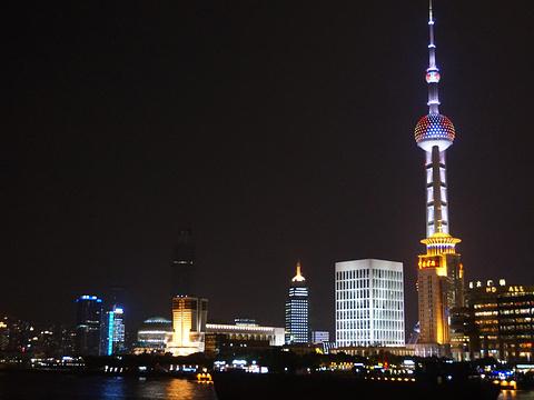 东方明珠广播电视塔旅游景点图片