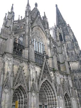 科隆大教堂旅游景点攻略图