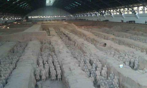 秦始皇帝陵博物院旅游景点攻略图