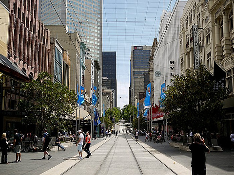 伯克街购物中心和墨尔本中心旅游景点图片