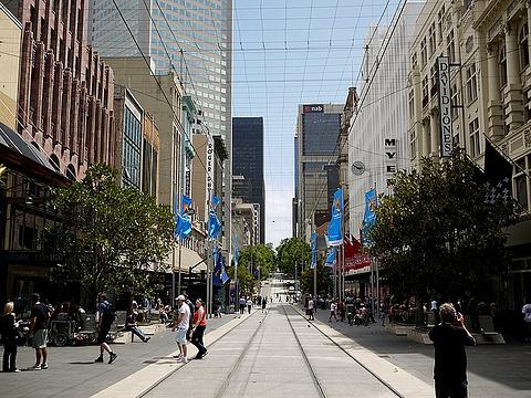 伯克街购物中心和墨尔本中心的图片