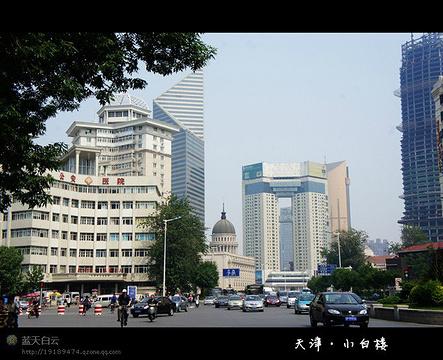 小白楼商业街旅游景点攻略图