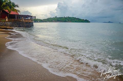 黑沙海滩旅游景点攻略图