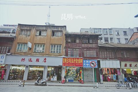 昆明老街(文明街历史街区)旅游景点攻略图