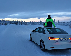 芬兰极光行—北极圈中1000km自驾游