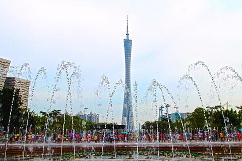 花城广场的图片