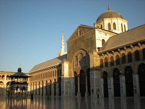 倭马亚大清真寺旅游景点攻略图