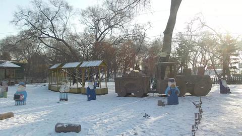 俄罗斯风情小镇旅游景点攻略图