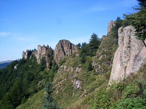 芦芽山旅游景点图片