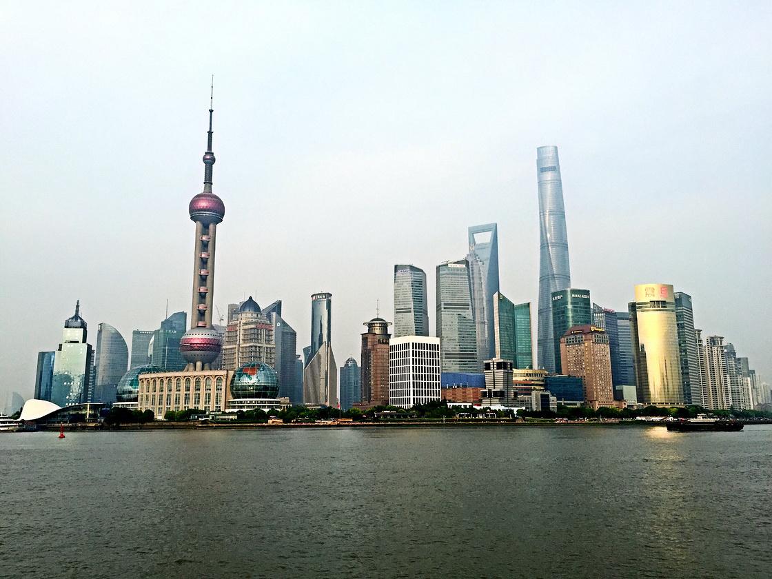 和闺蜜一起游上海