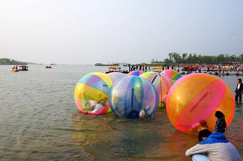 骆马湖湖滨浴场旅游景点攻略图