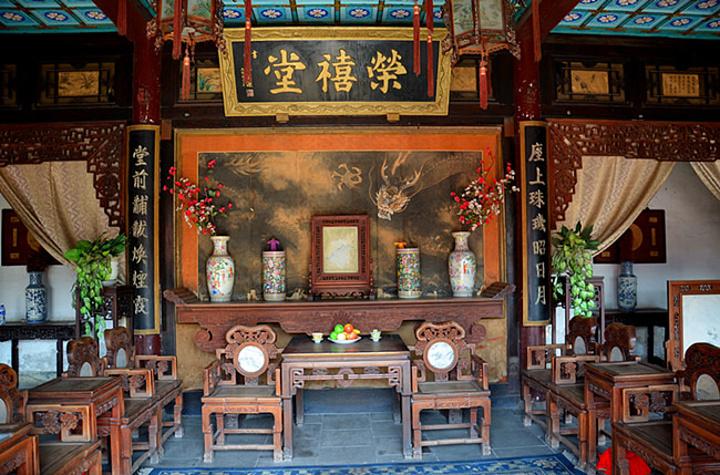 """""""荣国府是正定非常著名的一处景点,是根据中国著名古典名著《红楼梦》中所描绘的场景而建造的具有明清..._正定荣国府""""的评论图片"""