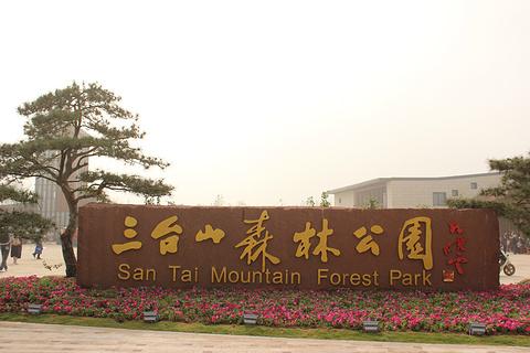 嶂山森林公园旅游景点攻略图