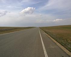 牧马人骑车去希拉穆仁草原