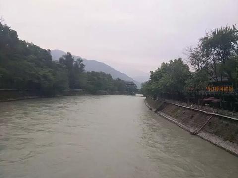都江堰景区旅游景点攻略图