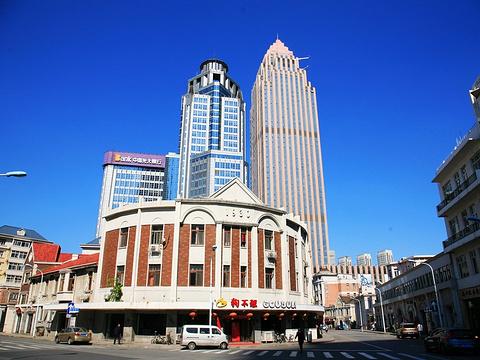 天津小白楼音乐广场旅游景点图片