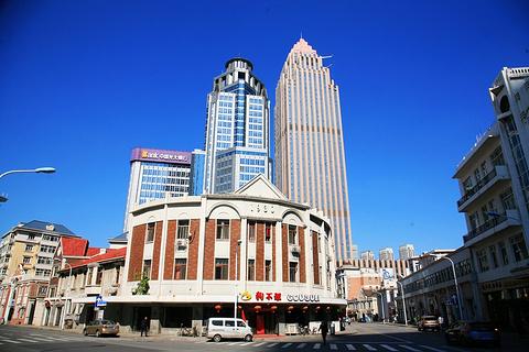 天津小白楼音乐广场的图片