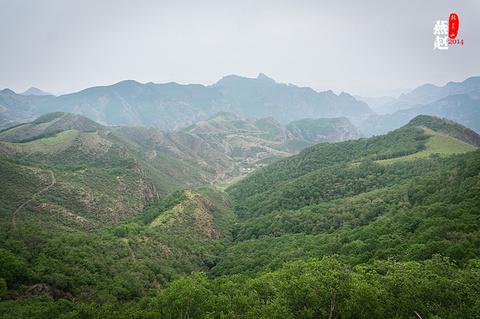 黄草梁风景区旅游景点攻略图