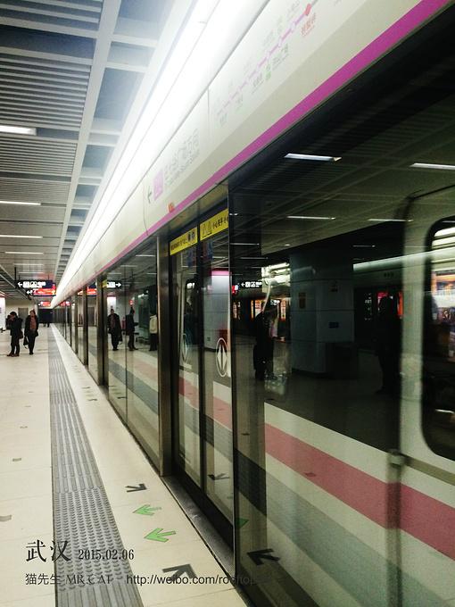 我眼中的武汉地铁图片