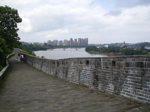 赣州古城墙旅游景点图片