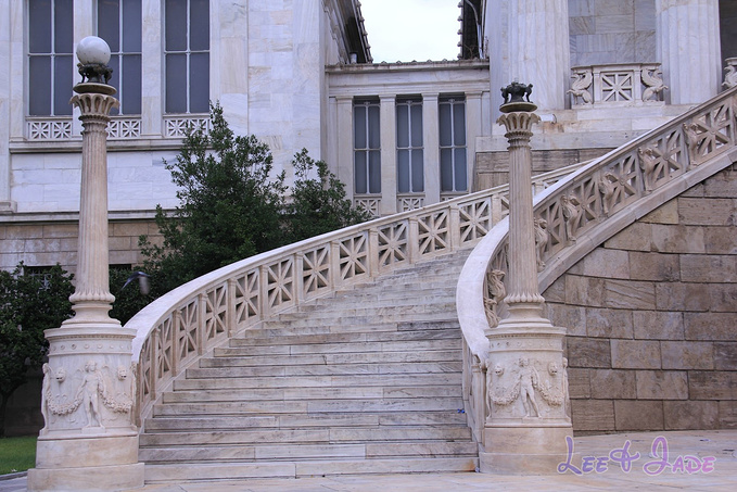 希腊国家图书馆图片