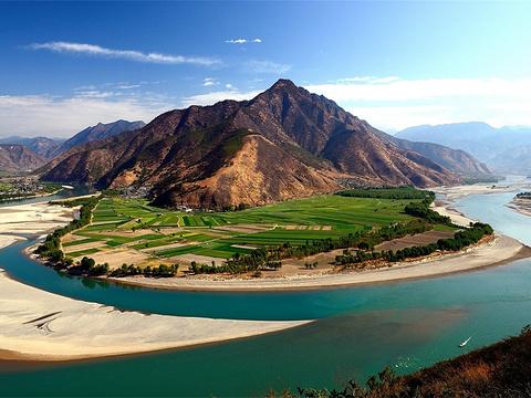 长江第一湾旅游景点图片