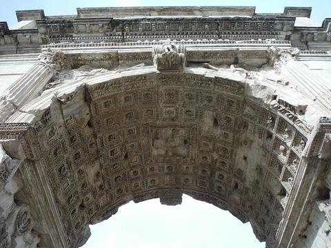 君士坦丁凯旋门旅游景点攻略图
