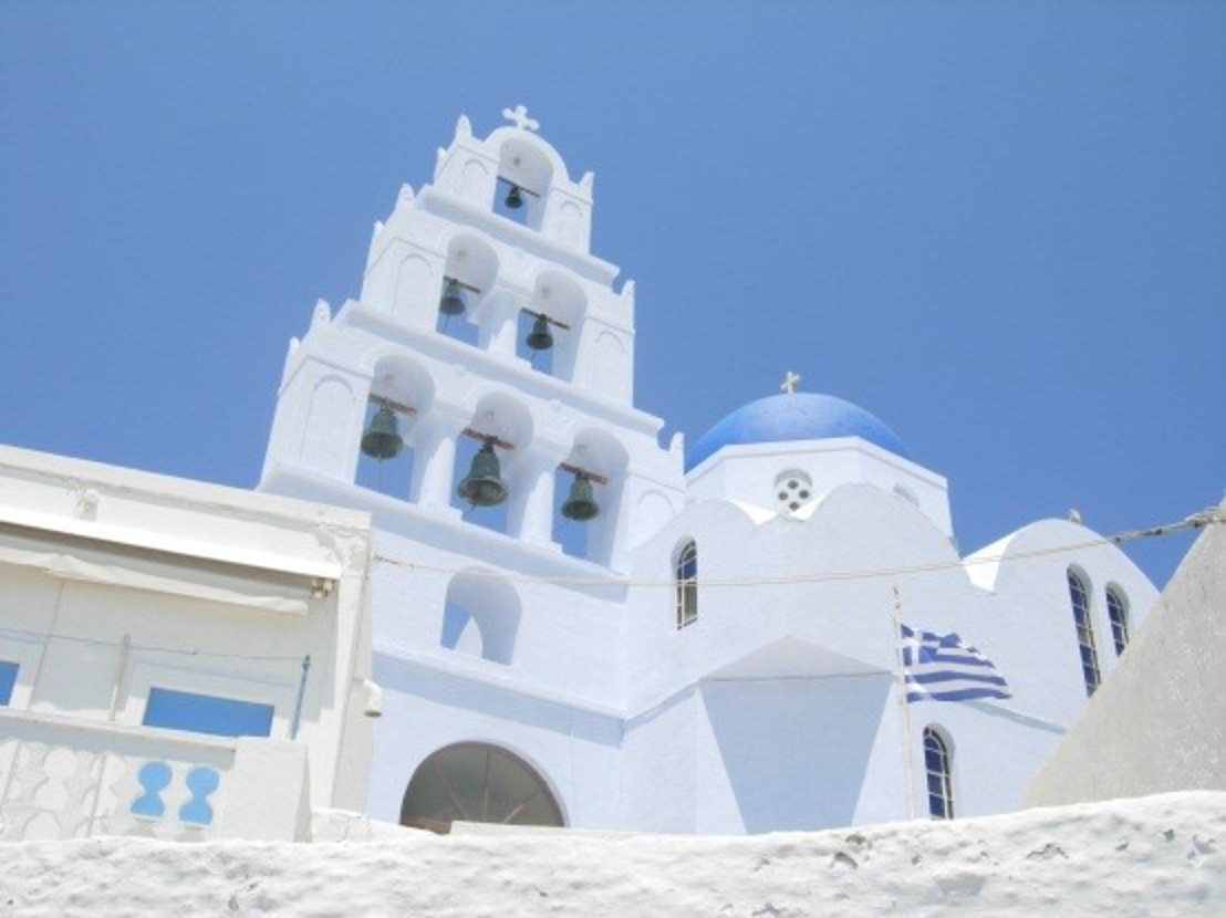 蓝+白:希腊给予的一种惊喜